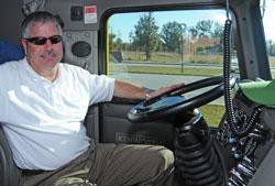 Truck Driver Ron Lang