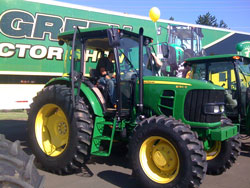 Drive Green Utility Tractor Show - Salem