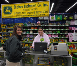 Saginaw Implement Booth